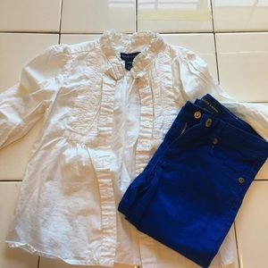 Dress shirt and pants